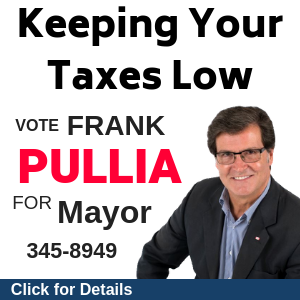 Frank Pullia 4 Mayor - Keeping Taxes Low