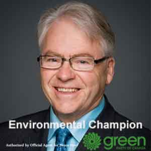 Re-elect Bruce Hyer Green Party of Canada Thunder Bay-Superior North