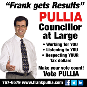Pullia Councillor at Large Thunder Bay
