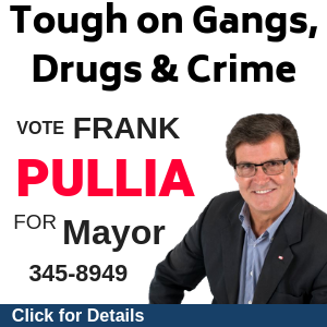Frank Pullia 4 Mayor - Combating Gangs and Drugs