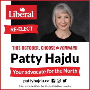 This October Choose Patty Hajdu