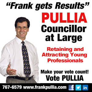Frank Pullia Councillor at Large - Retaining & Attracting Young Professional