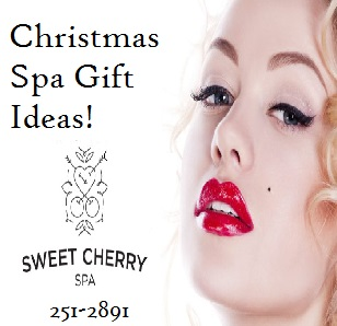 Sweet Cherry Spa Thunder Bay Christmas Spa Ideas