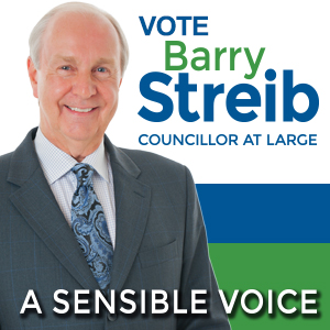 Barry Streib Councillor Thunder Bay
