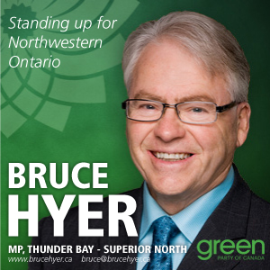 Bruce Hyer Green Party