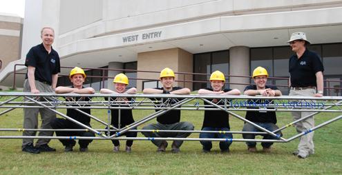 2011 Lakehead Steel Bridge Team