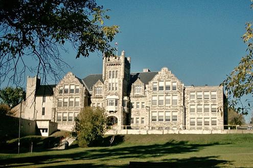 Lakehead University Law School campus