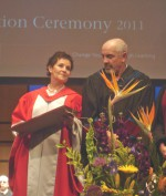 Red Rock Chief Pelletier Receives Honourary Diploma