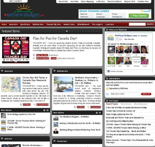 NNL in 2011 on WordPress