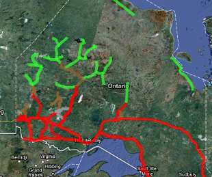 northern winter roads