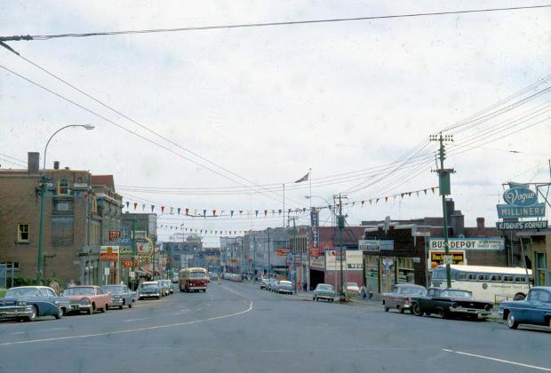 Red River Road Circa 1959