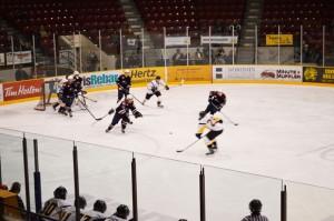 Thunder Bay North Stars action