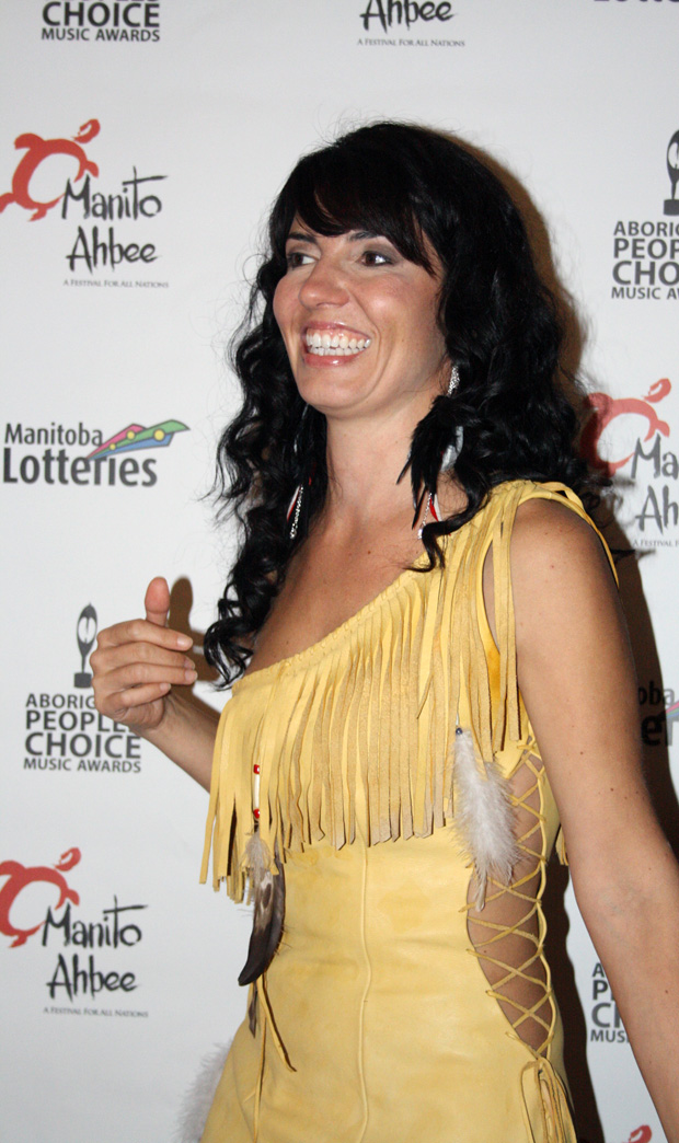 Shy-Anne Hovorka On The Red Carpet at The APCMAs 2012