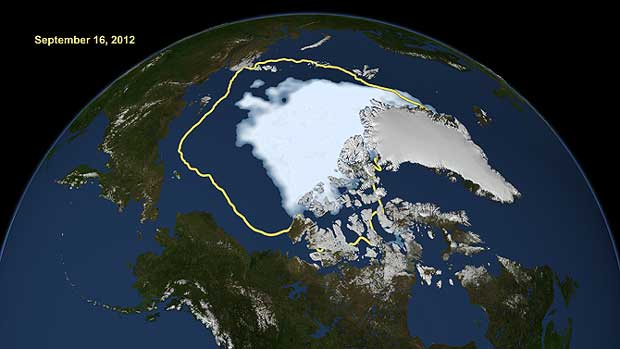 The steady and dramatic decline in the sea ice cover of the Arctic Ocean over the last three decades has become a focus of media and public attention