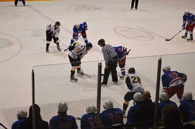 SIJHL - North Stars take on Iron Rangers