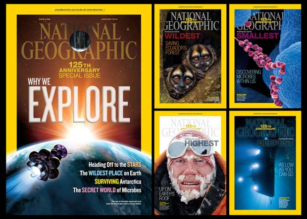 125th Anniversary of National Geographic