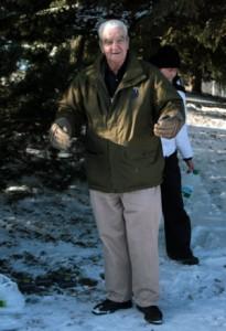 Senator Bob McKay speaks at Water Ceremony