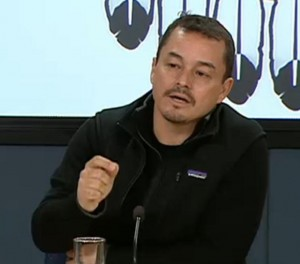 AFN National Chief addressing press conference in Ottawa
