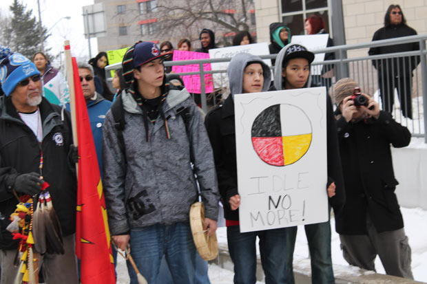 Listening - Idle No More Thunder Bay - Quinn Spyrka photo