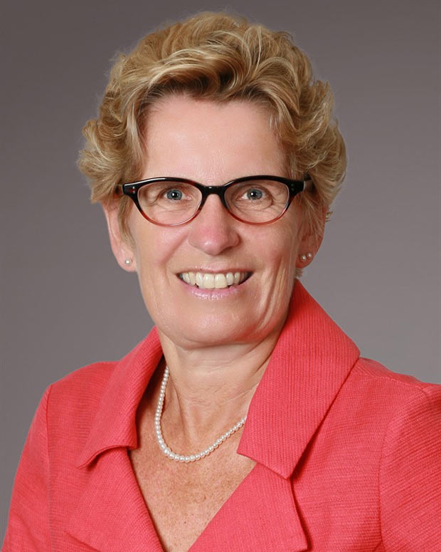 Ontario Liberal Leader, Premier Kathleen Wynne