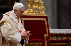 Pope Benedict XVI delivers New Years Message from the Vatican