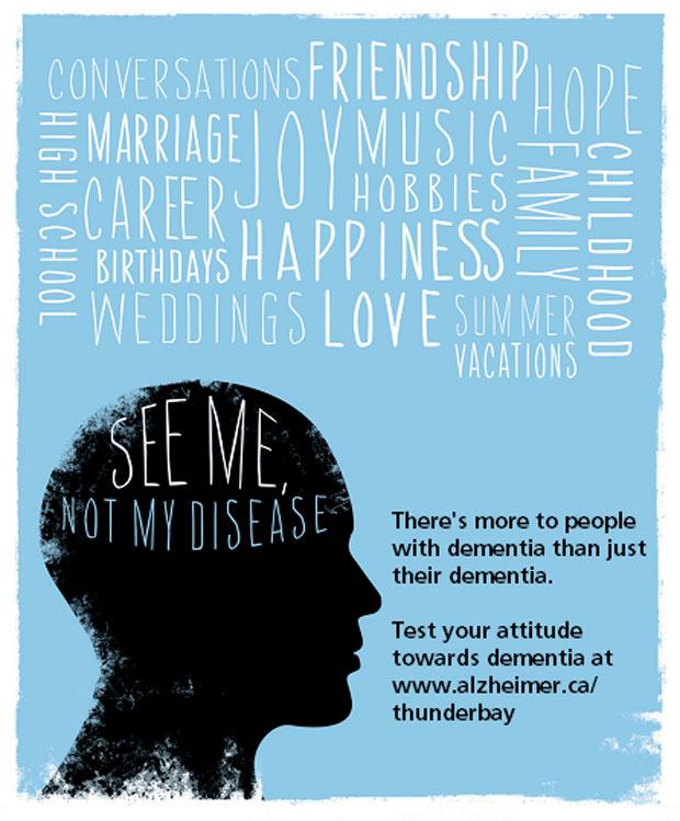 See me not my disease - Dementia