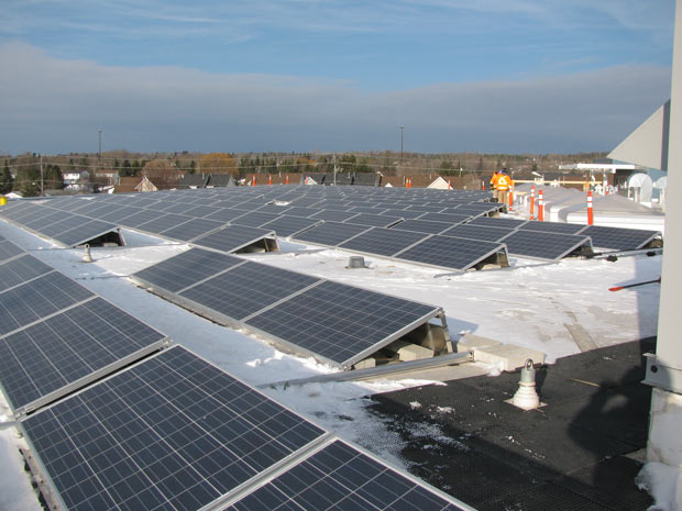 Solar Power is a component of helping communities reduce their dependence on fossil fuel power