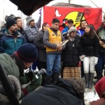 Chief Theresa Spence and Elder Raymond Robinson Ending Hunger Strikes