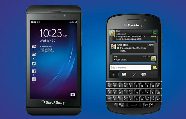 Blackberry 10 and Blackberry Q10 released in New York in a world-wide launch
