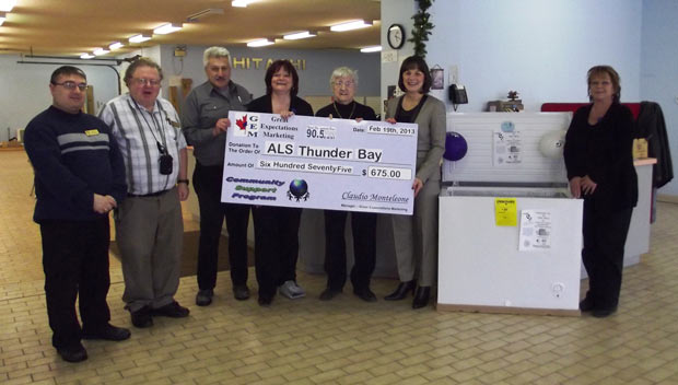Gilbert's Furniture & Appliances supports ALS