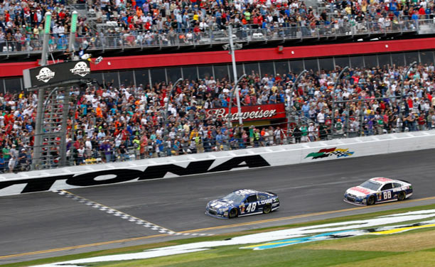 Five-time series champion Jimmie Johnson wins Daytona