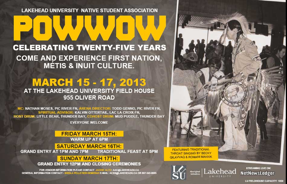 LUNSA 25th Anniversary Pow Wow