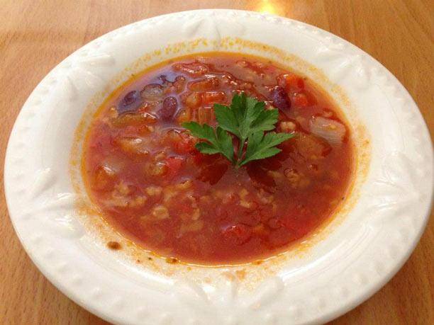 Organic Garden Café Soup