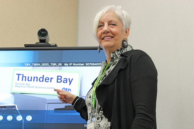 "TBRHSC ""I was intrigued with the idea that you could share your opinion and that it would be taken into consideration to improve the experience of patients and families,"" says Marga Bond, Patient and Family Advisor at Thunder Bay Regional Health Sciences Centre since 2009"