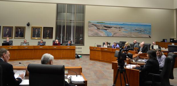 Thunder Bay City Council Chambers