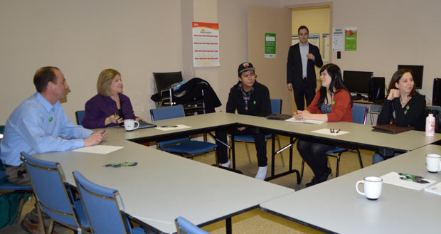 Youth Centres Thunder Bay Panel with NDP Leader Andrea Horwath