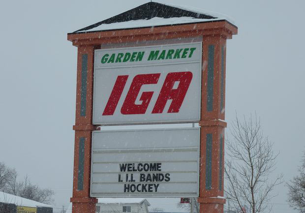 Dryden Businesses welcoming Little Bands Hockey Tournament