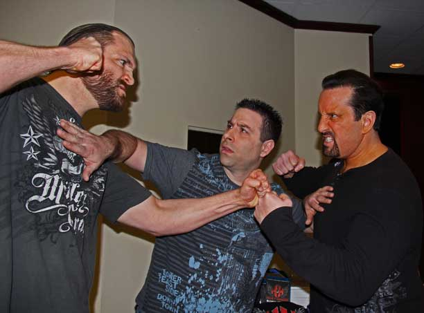 This is Hannibal with Tommy Dreamer