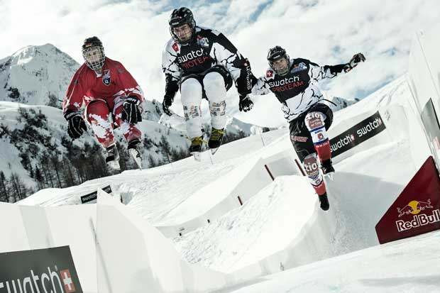 Red Bull Crashed Ice &#8211; Derek Wedge upset favorites