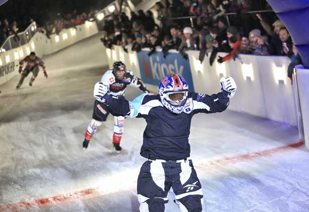 Red Bull Crashed Ice – Naasz victory in Lausanne!