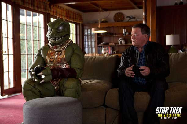 Shatner and Gorn