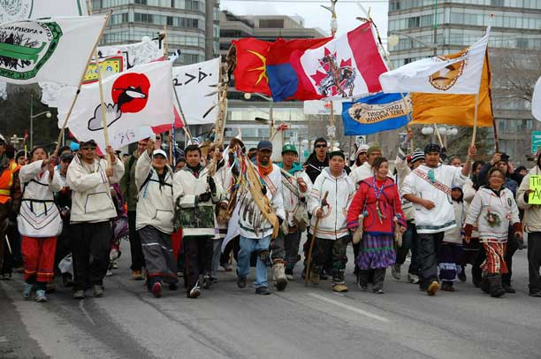 Nishiyuu Walkers sending message to obtuse Conservatives