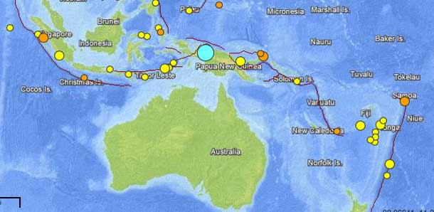 7.0 Earthquake Shakes Indonesia