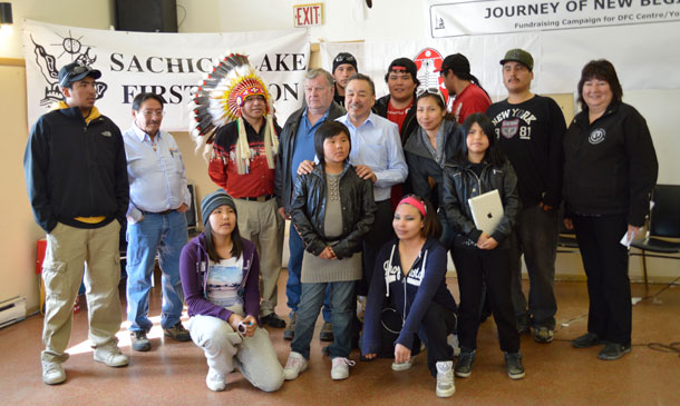 Sachigo Lake Walkers Reach Sioux Lookout