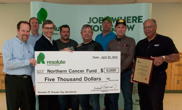 Resolute Forest Products supports Northern Cancer Fund