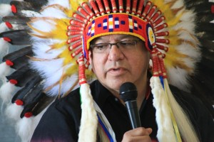 Eabametoong First Nation Chief Harvey Yesno