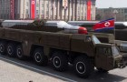 It has been confirmed that North Korea, transported two Musudan mid-range missiles by train to the east coast and loaded them on vehicles equipped with launch pads