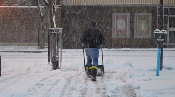 Winter Storm for Thunder Bay