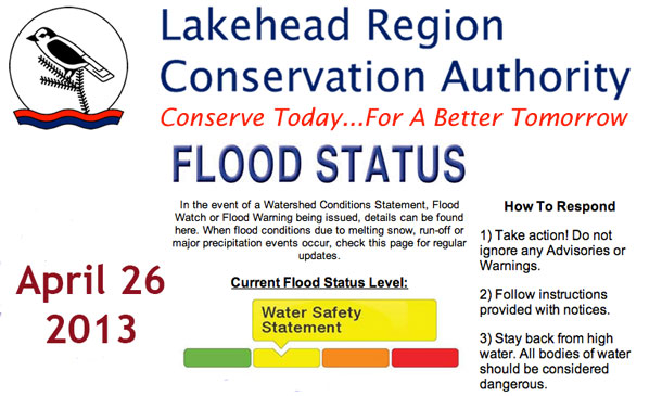 Watershed Safety Statement