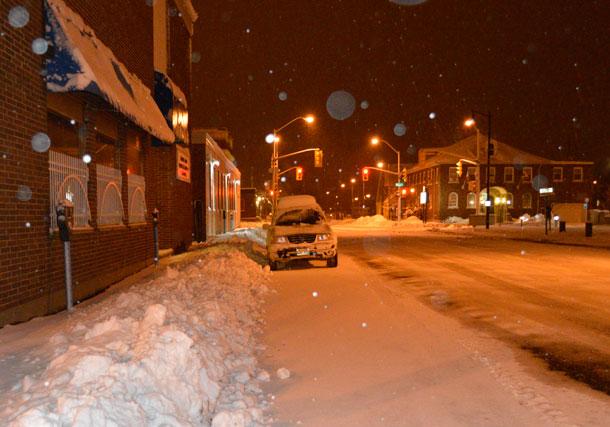 Climate Change Snow Storm